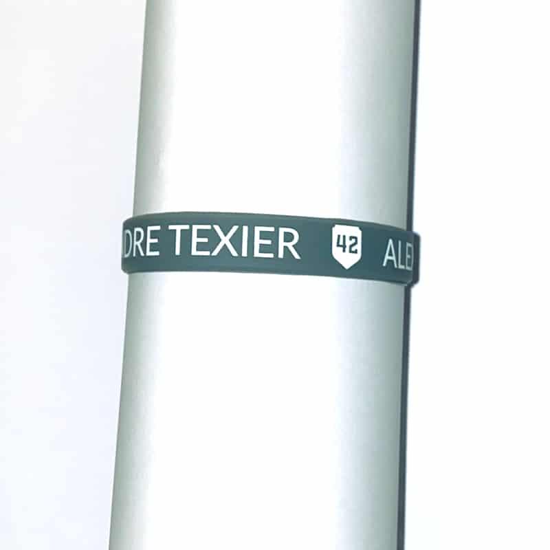 Bracelet gris Alexandre Texier