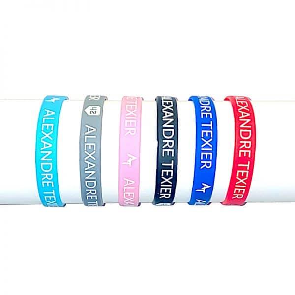 Toutes les couleurs des Bracelets couleurs Alexandre Texier