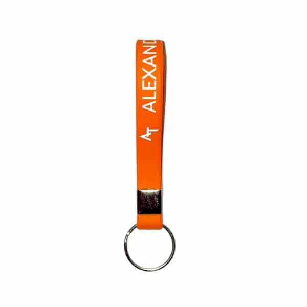 Porte-clés orange Alexandre Texier