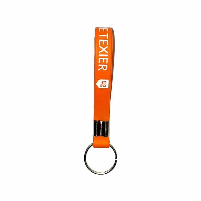 Porte-clés orange 42 Alexandre Texier