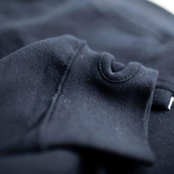 Ouverture pour pouce sur Sweatshirt Alexandre Texier bleu